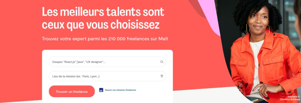 Malt, plateforme pour freelances