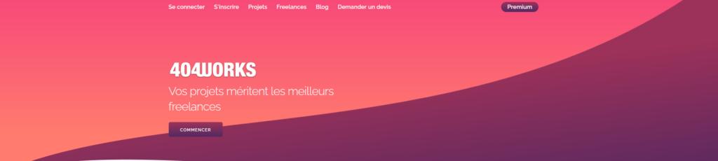 404works, plateforme pour freelances