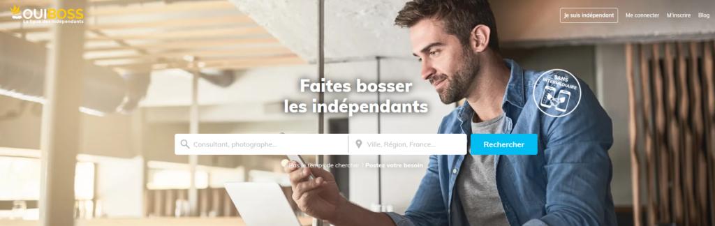 Ouiboss, plateforme pour freelances