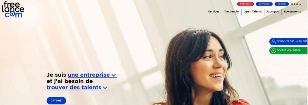 Freelance.com, plateforme pour freelance
