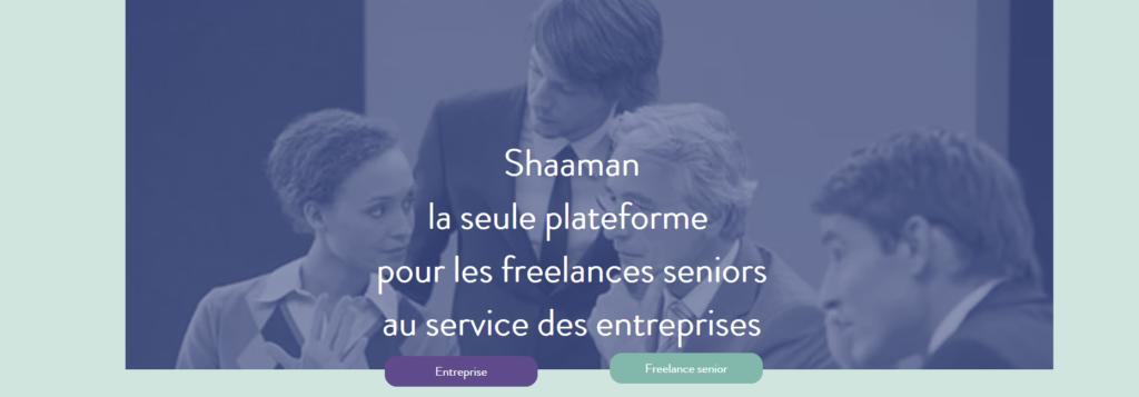 Shaaman, plateforme pour freelance