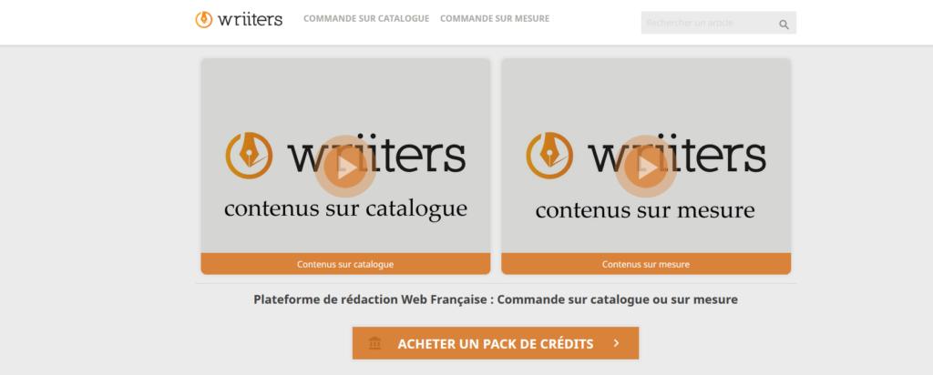 Wriiters, plateforme pour freelance