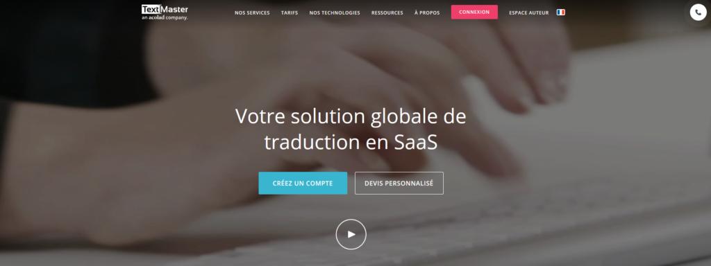 Textmaster, plateforme pour freelance
