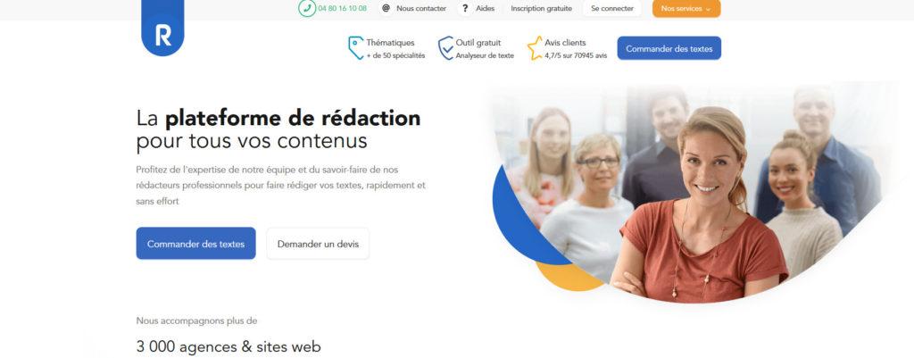 Redacteur.com, plateforme pour freelance