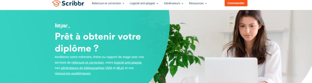 Scribbr, plateforme pour freelance