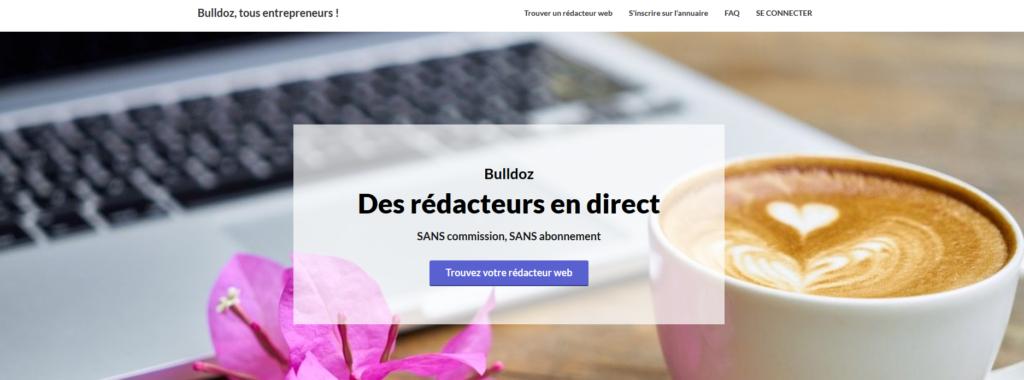Bulldoz, plateforme pour freelance
