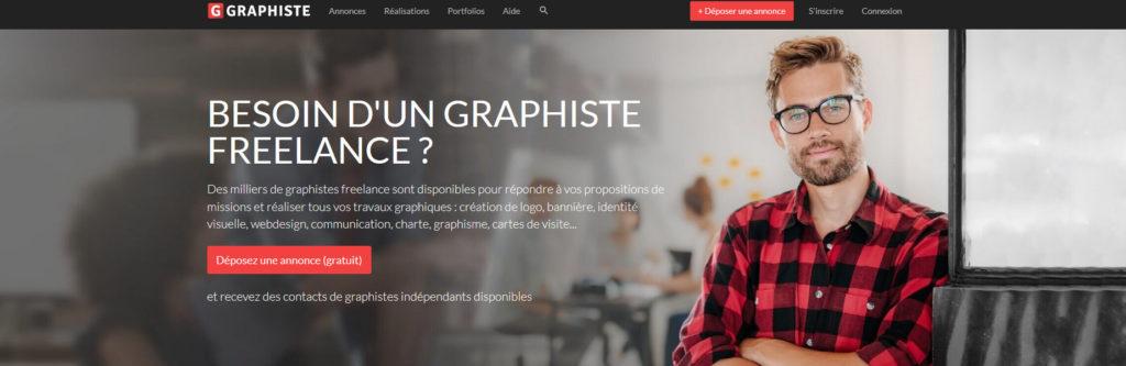 Graphiste.com, plateforme pour freelance