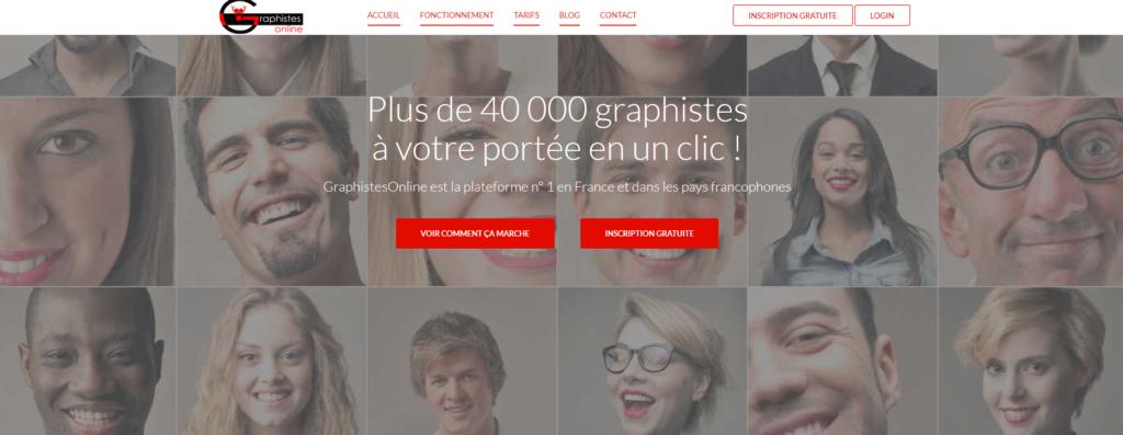 GraphisteOnline, plateforme pour freelance
