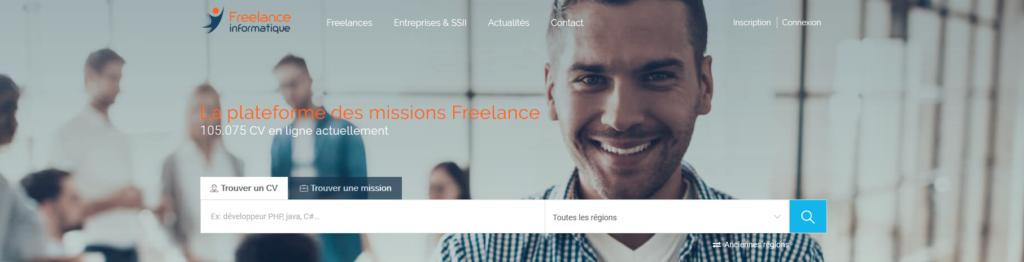 Freelance Informatique, plateforme pour freelance