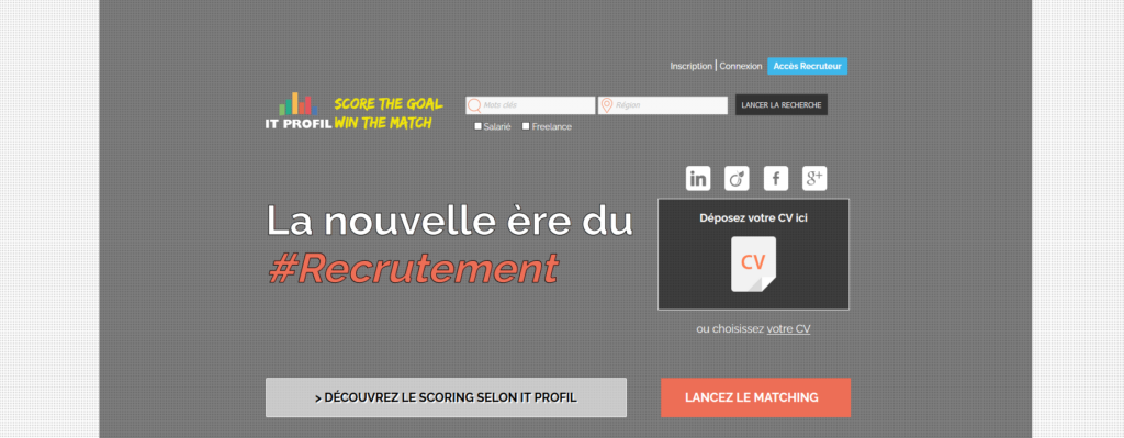 IT Profil, plateforme pour freelance