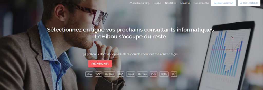 Le Hibou, plateforme pour freelance
