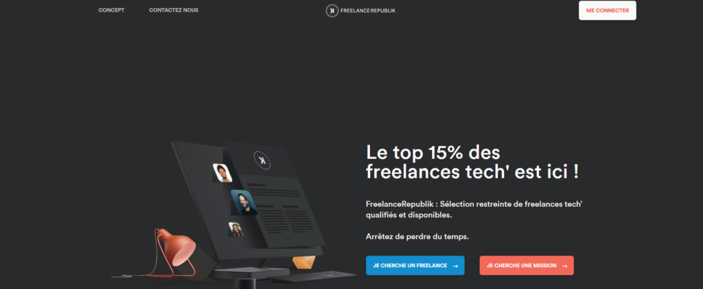 Freelance Republik, plateforme pour freelance
