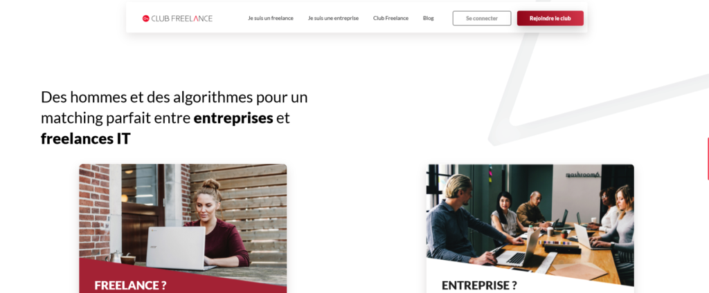 Club Freelance, plateforme pour freelance