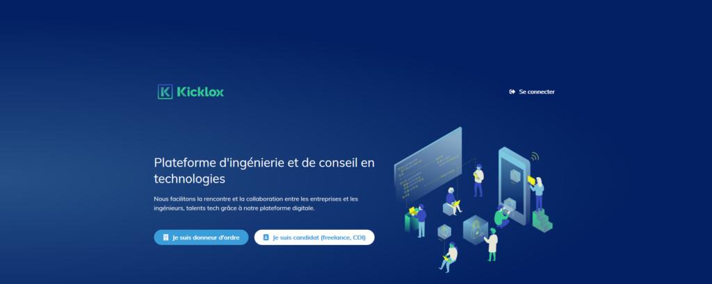 Kicklox, plateforme pour freelance