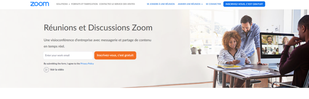 Zoom outil pour consultants