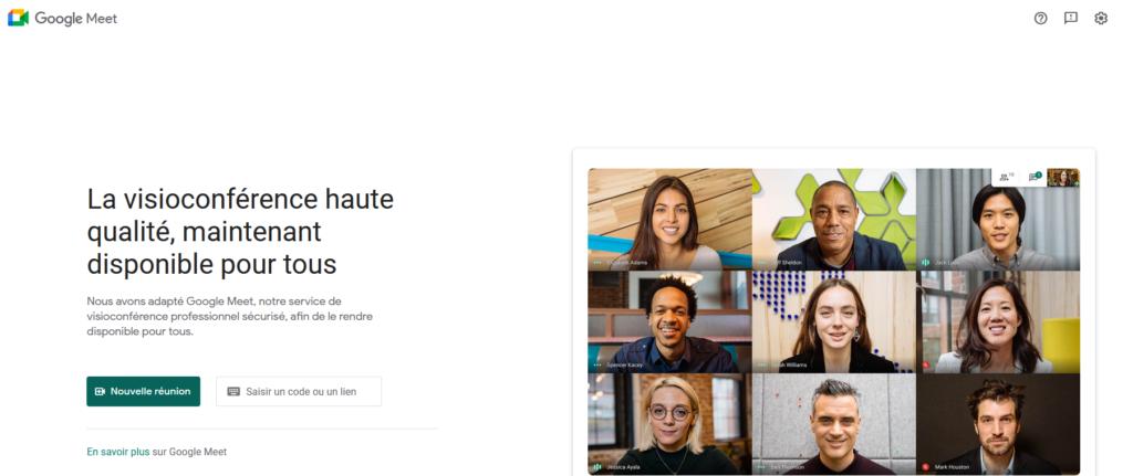 Google Meet, logiciel, outil, consultant