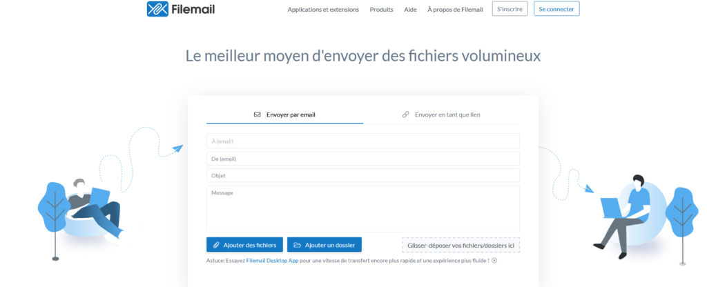 Filemail, logiciel, outil, consultant