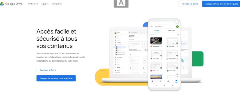 Google Drive, logiciel, outil, consultant