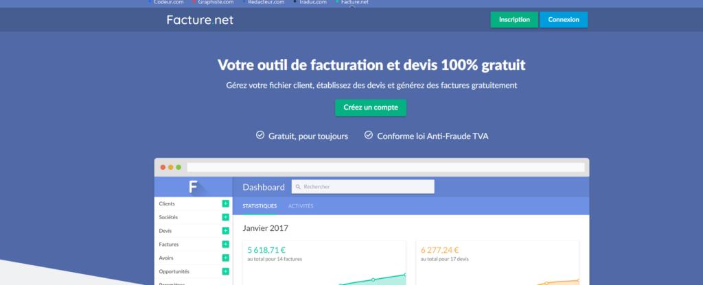 Facture.net, logiciel, outil, consultant